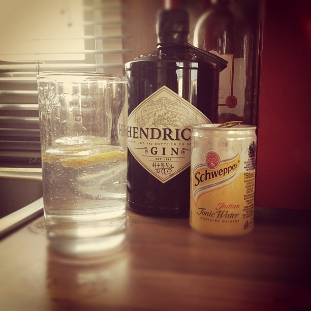 G&T anybody? #holiday #drink #gin  (Taken with  Instagram )