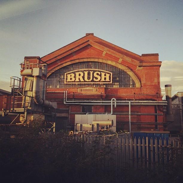 'Ello 'Ello lovely Brush factory! #loughborough #typography #photo #instapic #sunset #light  (Taken with  Instagram )