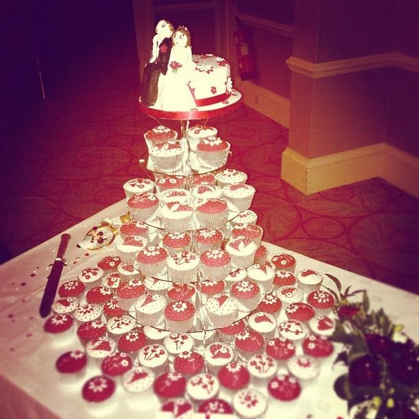 #Wedding #Cupcakes  (Taken with  Instagram )