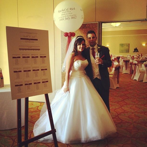 Mr & Mrs Statham #wedding #bride #groom #dress #photo  (Taken with  Instagram )
