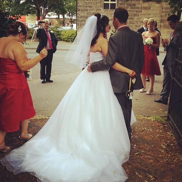 #wedding #bride #dress #photo  (Taken with  Instagram )