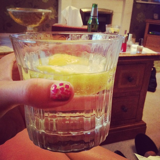 G&T anyone? #olympics2012  (Taken with  Instagram )