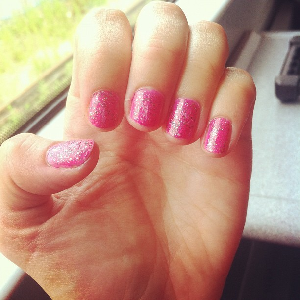 Seriously in Saturday-mode. Got carried away doing my nails for my night out tonight and nearly missed my train?!?