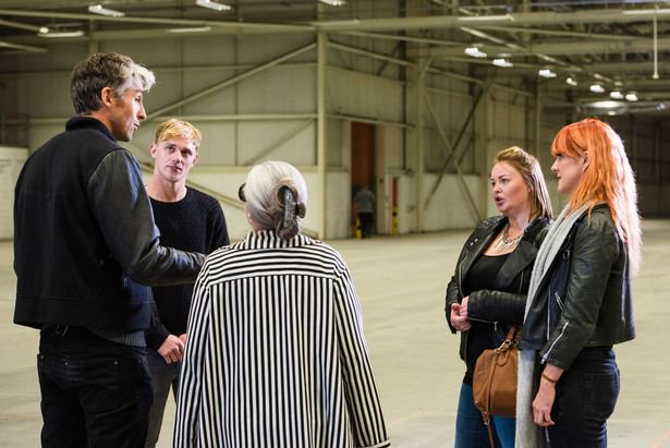 Lloyd, Charmayne and myself, meeting George Lamb and the doc, before spending 5-days and 5-nights in solitary confinement.