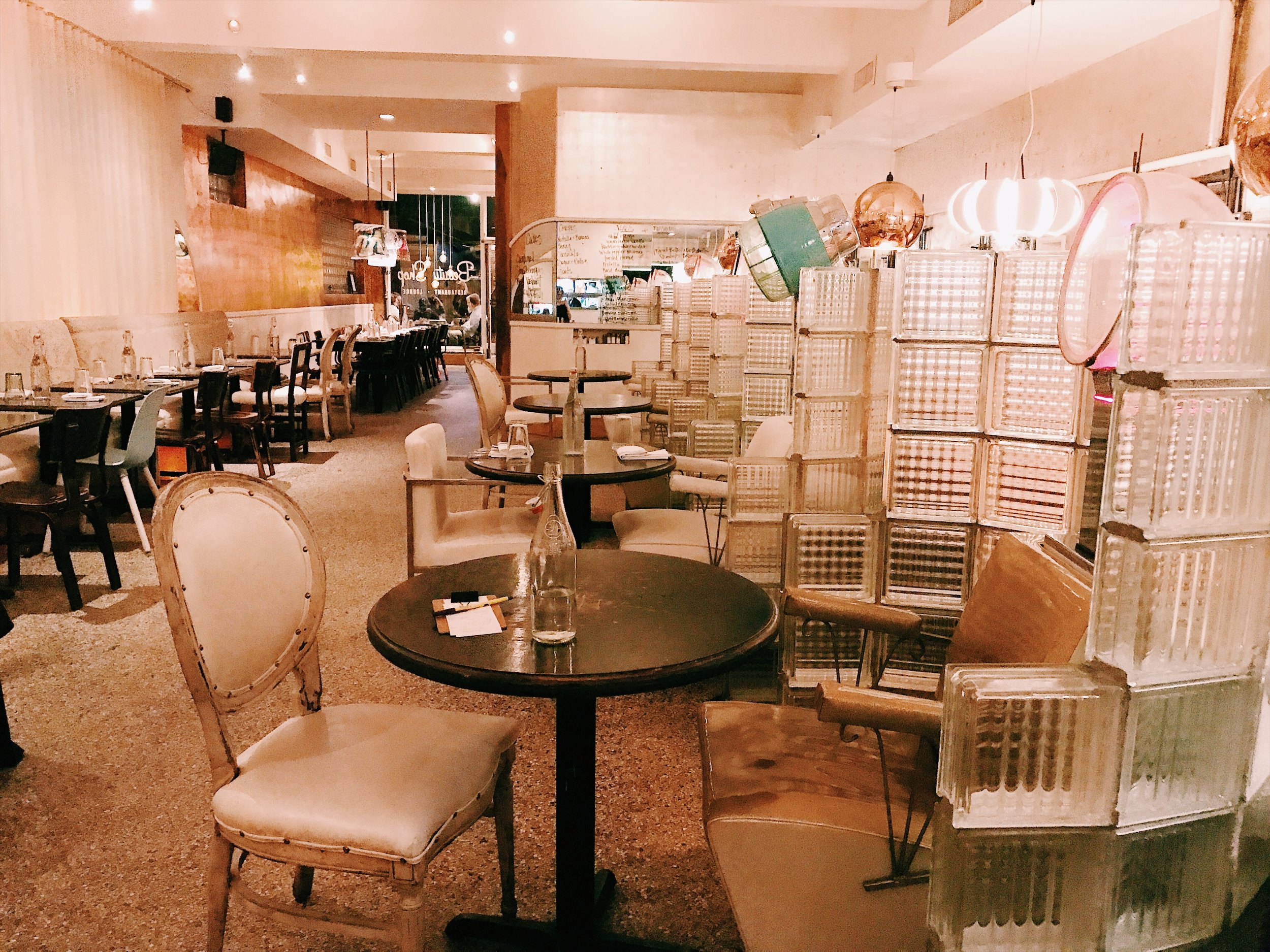 The Beauty Shop restaurant, Memphis – be warned the food is good, but it's pretty pricey!