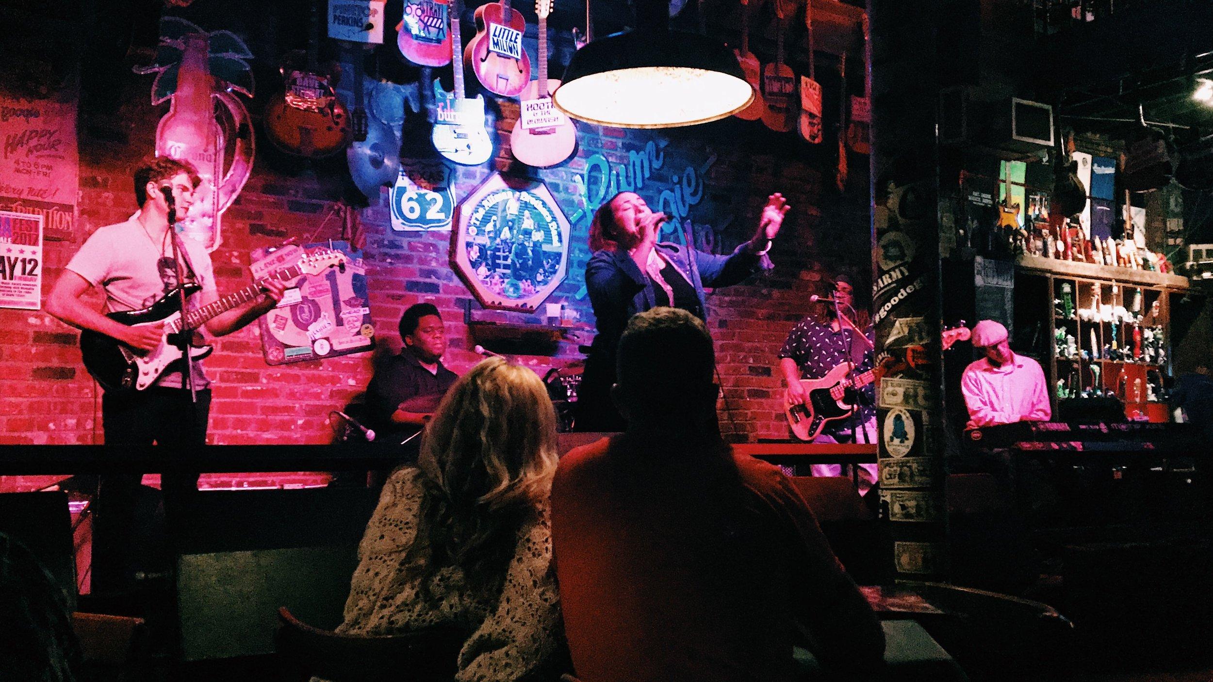 Live music @ Rum Boogie Cafe, Beale Street, Memphis