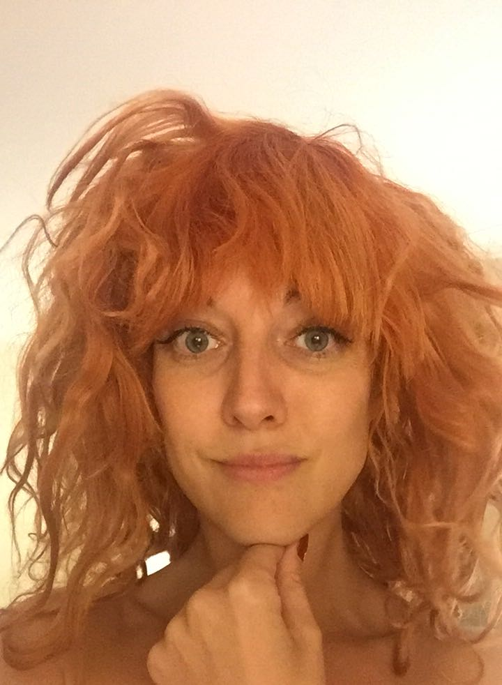 My ginger 'fro – I couldn't wash my hair for 5-days...