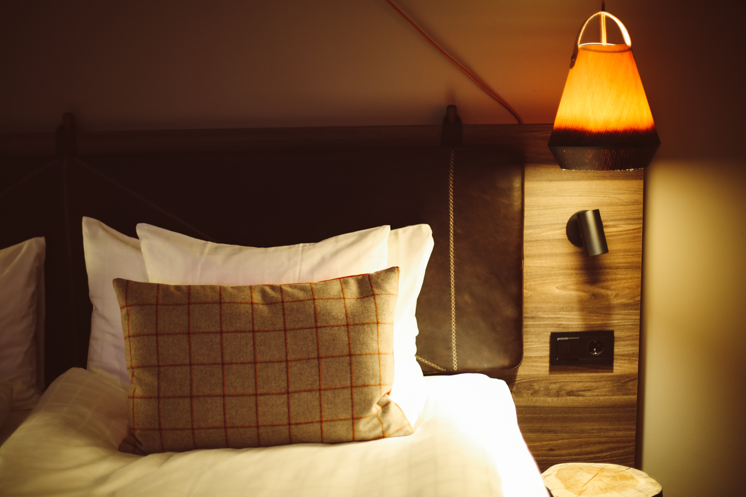 Our cosy hipster-friendly twin room at the Downtown Camper by Scandic hotel