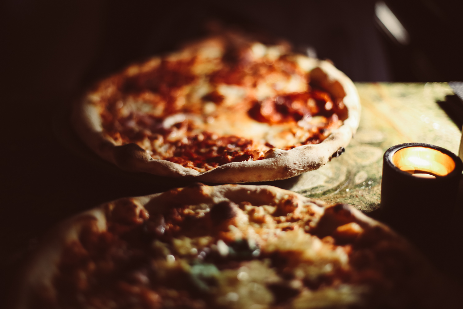 Pizza for dinner at 1889, Stockholm – one of the cheaper dining out options in the city