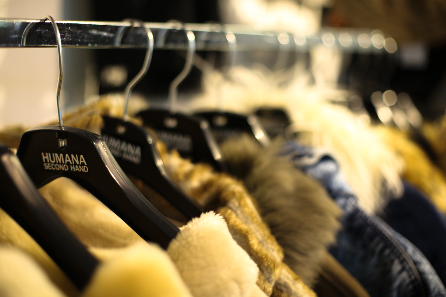 Humana Second Hand, Vintage Clothing Store, Stockholm