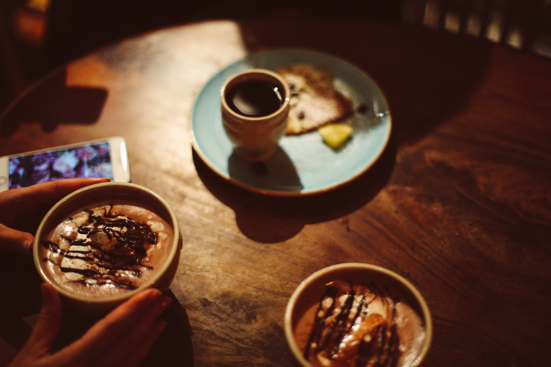 Hot chocolate at Kaffeekoppen, Gamla Stan