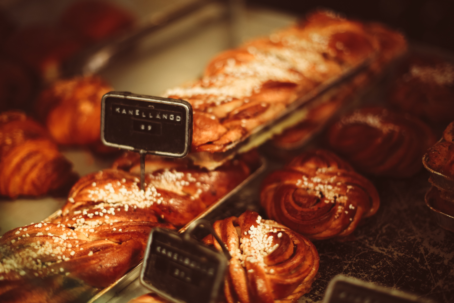 A must-eat when in Stockholm are the Cinnabun's from Fabrique bakery (it's right next door to Spago restaurant!)