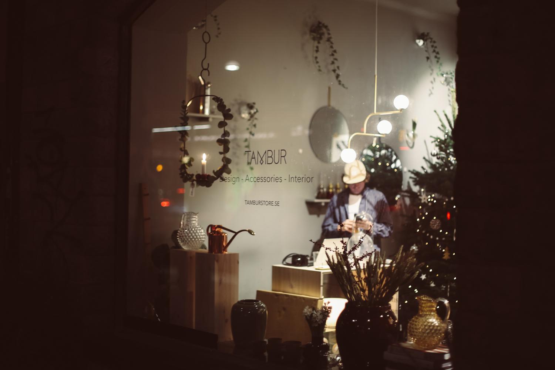 Tambur - design, accessories and interiors - concept store, Stockholm