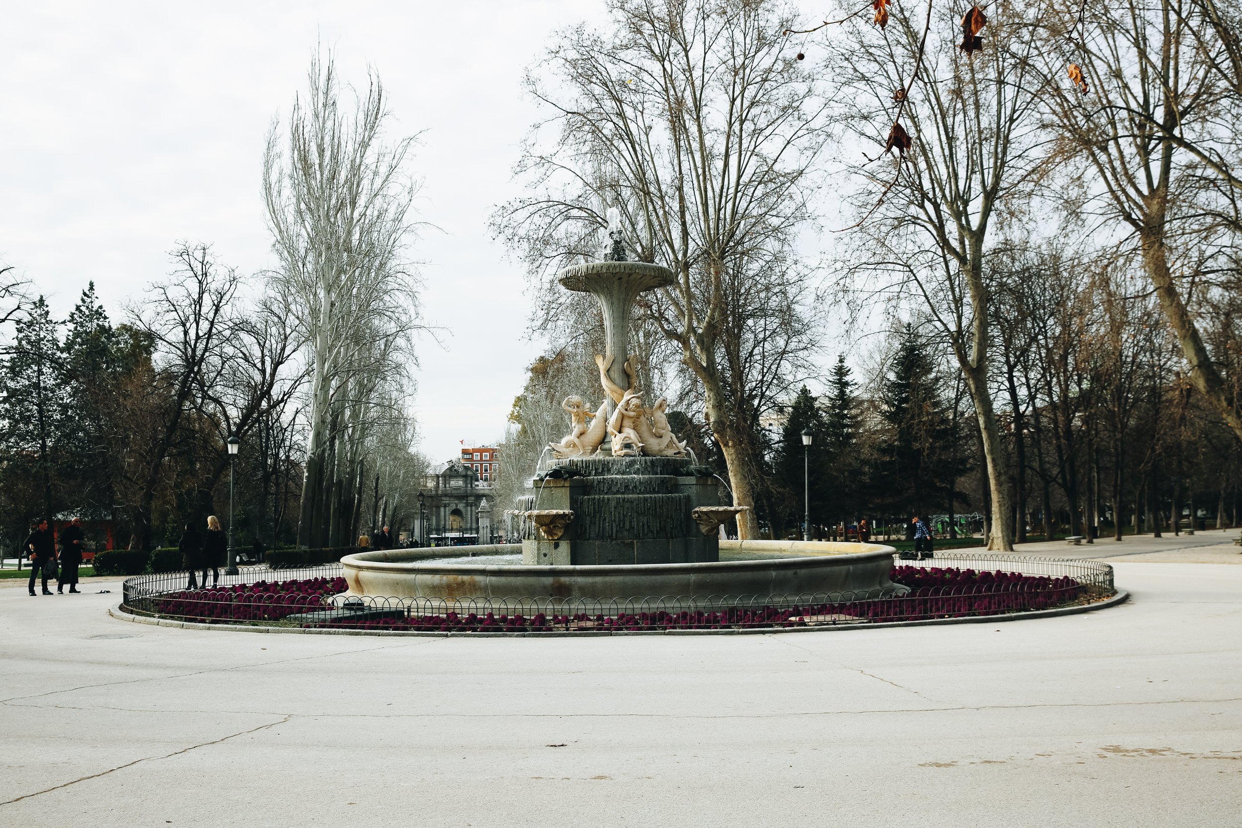 Retiro Park Fountain, Madrid