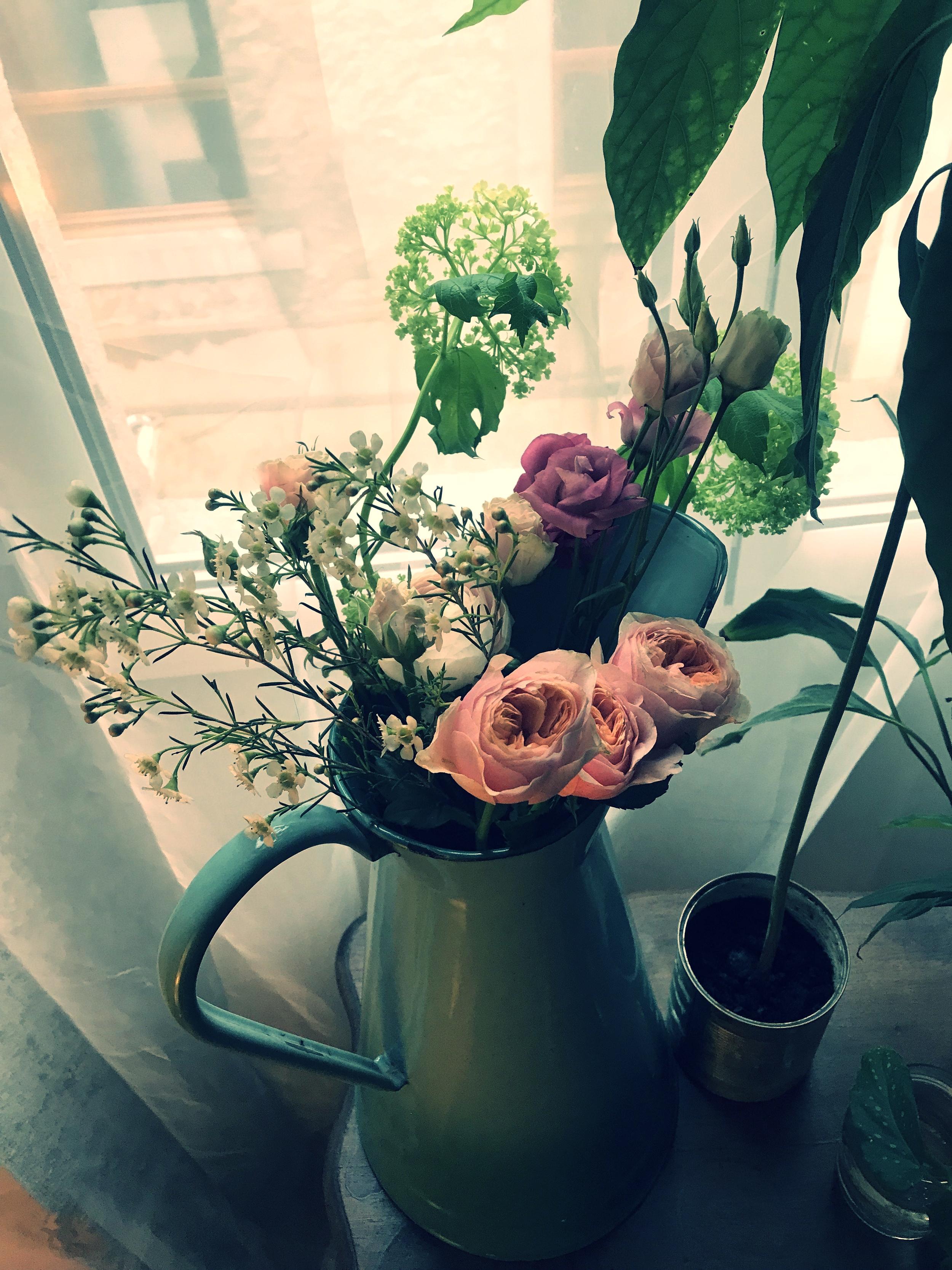 Fresh flowers from Des Roses et Des Orties Mazamet