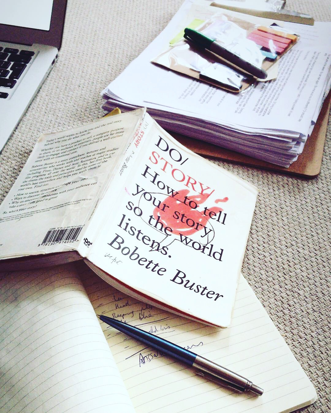 Time to write! Do Story by Bobette Buster is a great resource for anyone wishing to write a book