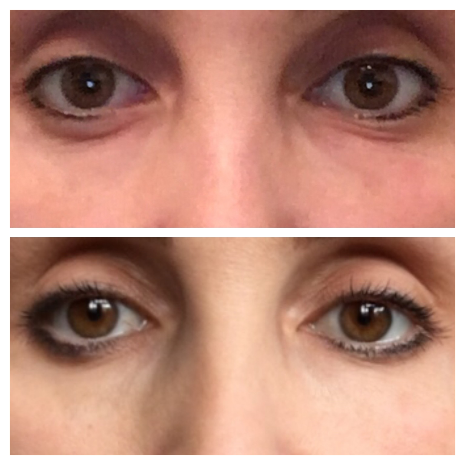 No more tired eyes - before and after the 30 day challenge