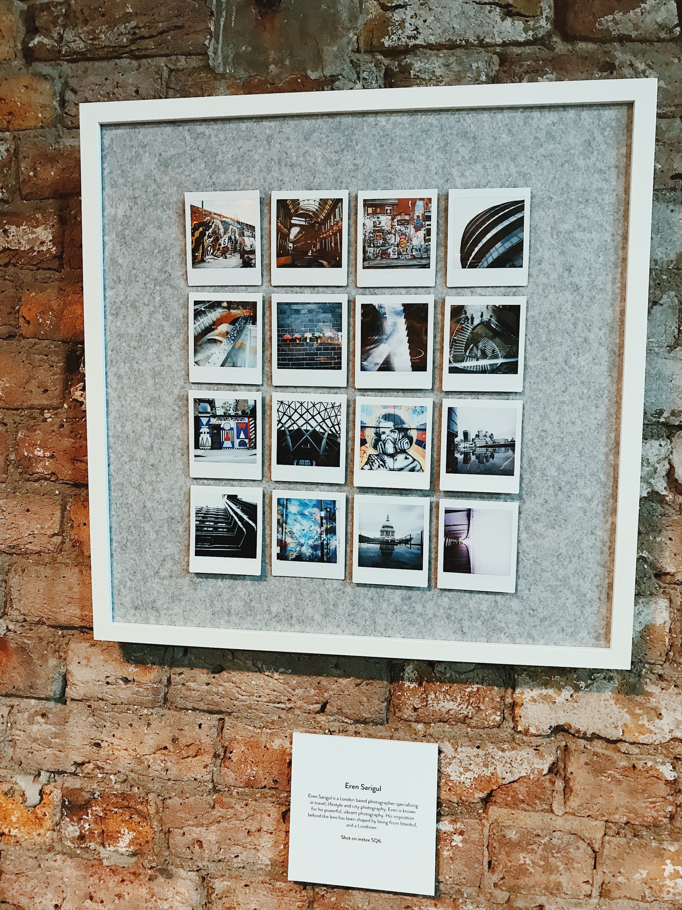 Eren Sarigul  Instax SQ6 review and exhibition