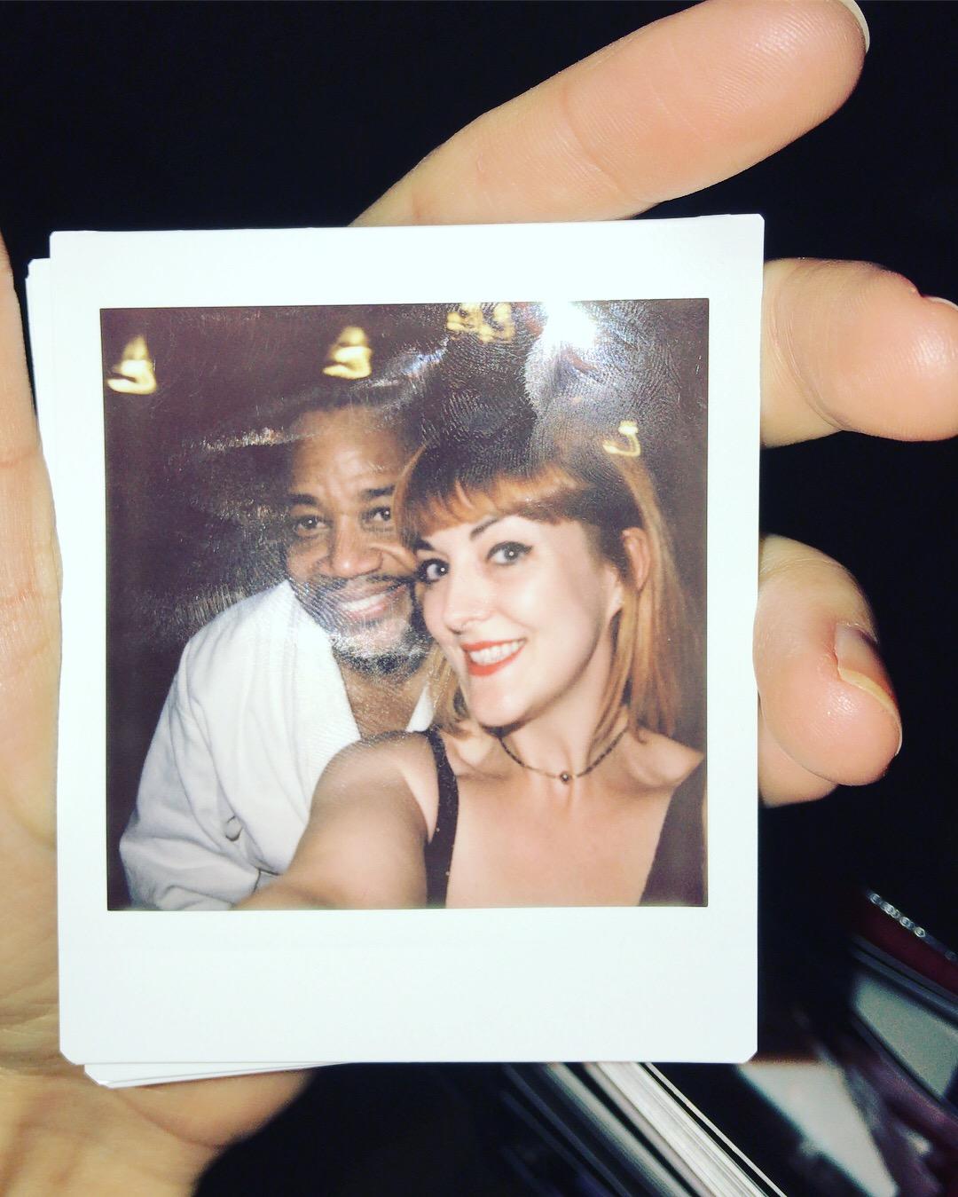 Blogger Lucie Loves Cuba Gooding Jr Chicago