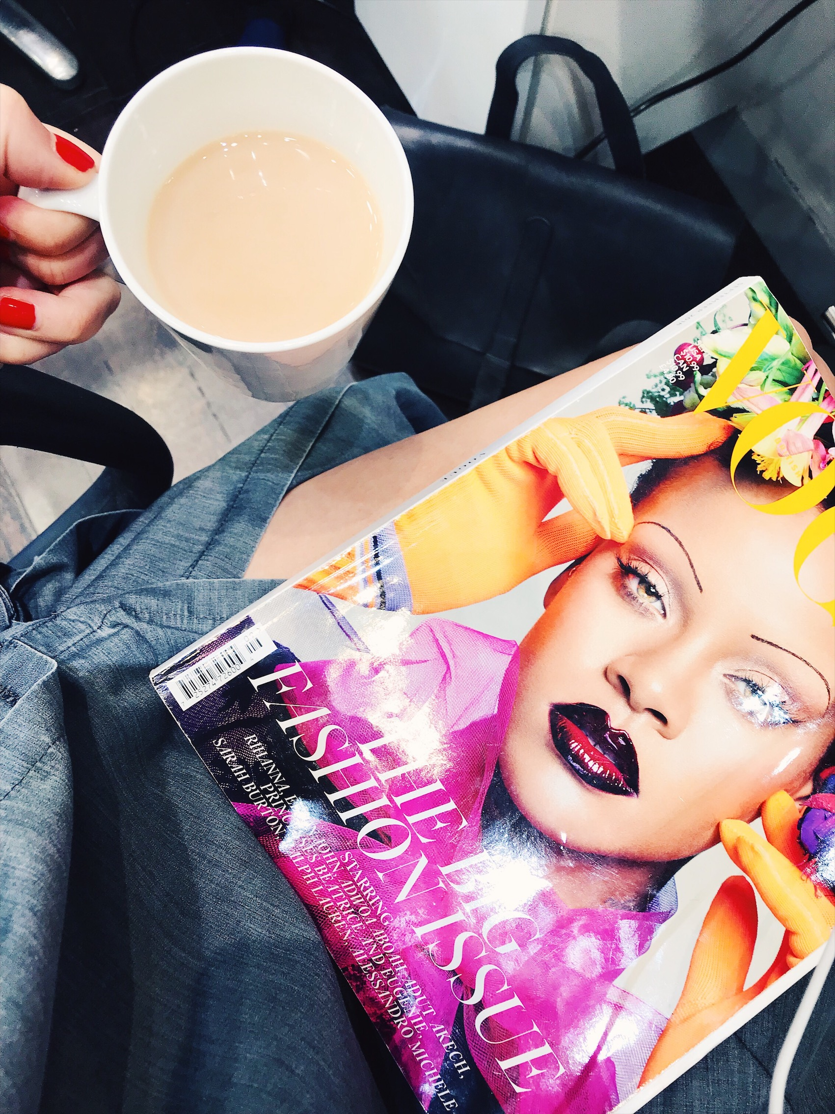 The September Issue. No, those brows are NOT making a come-back. Not on my watch!