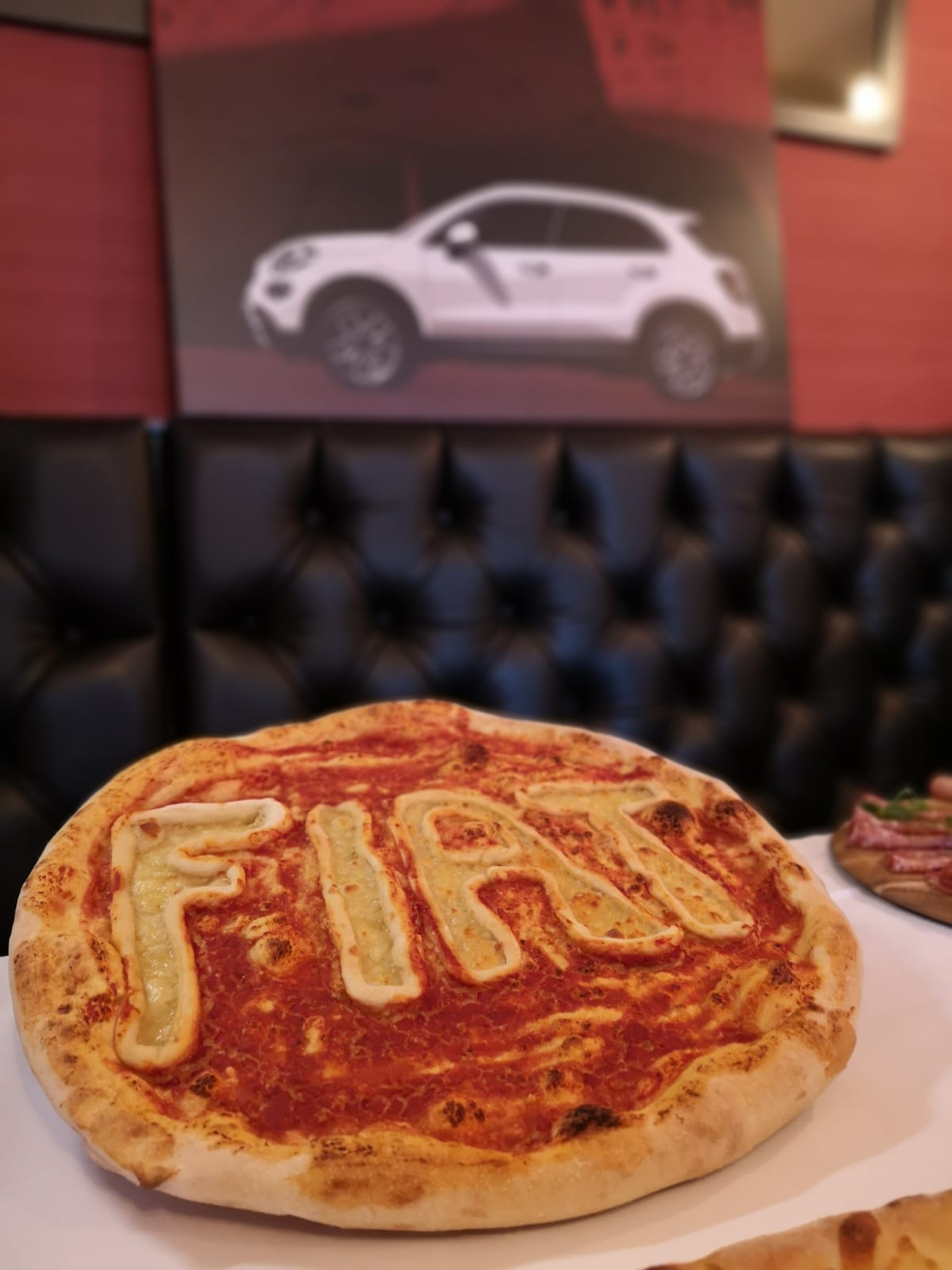 An authentic Italian lunch at Rugantinos with the Fiat 500x press launch team