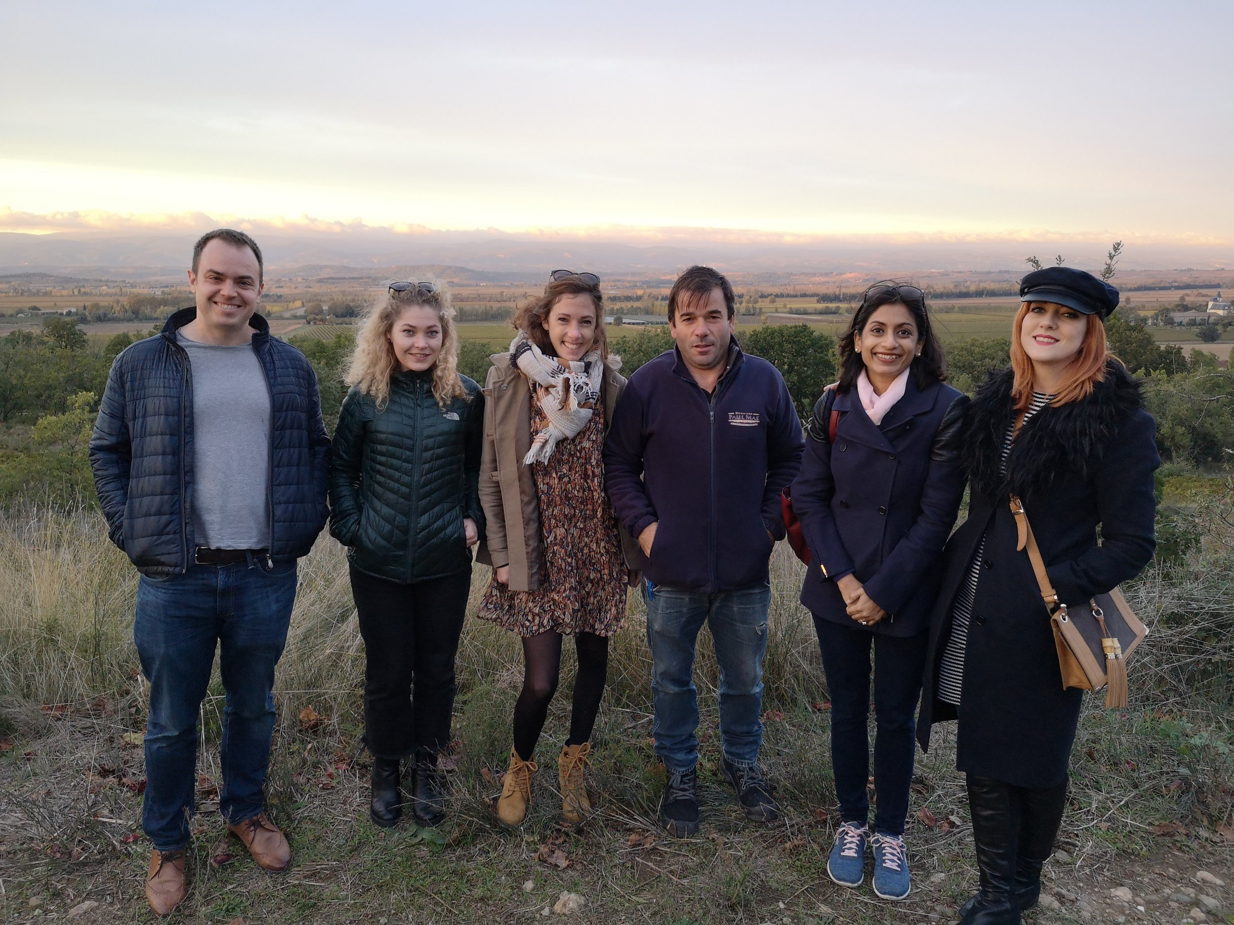 Wine Bloggers and Journalists Minervois France