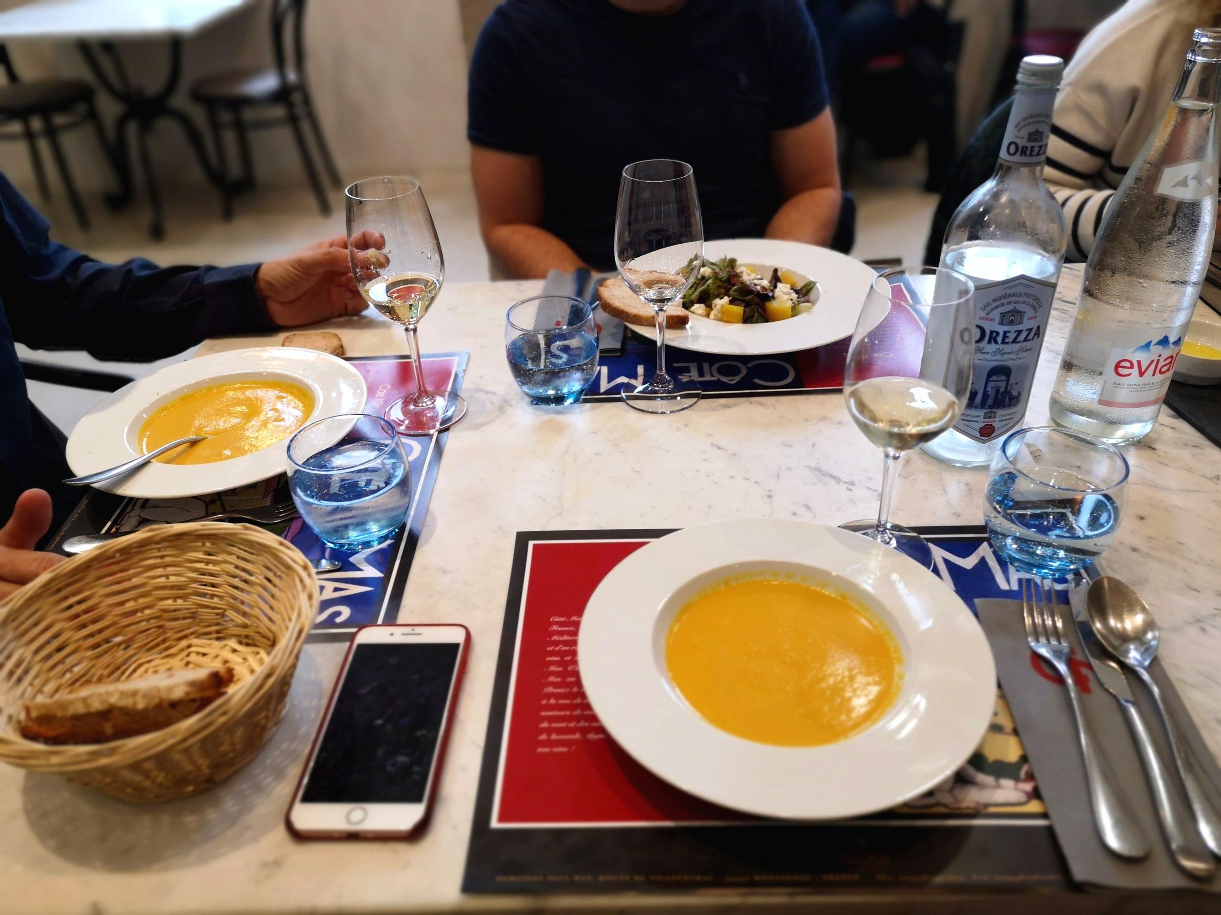 Lunch at Côté Mas