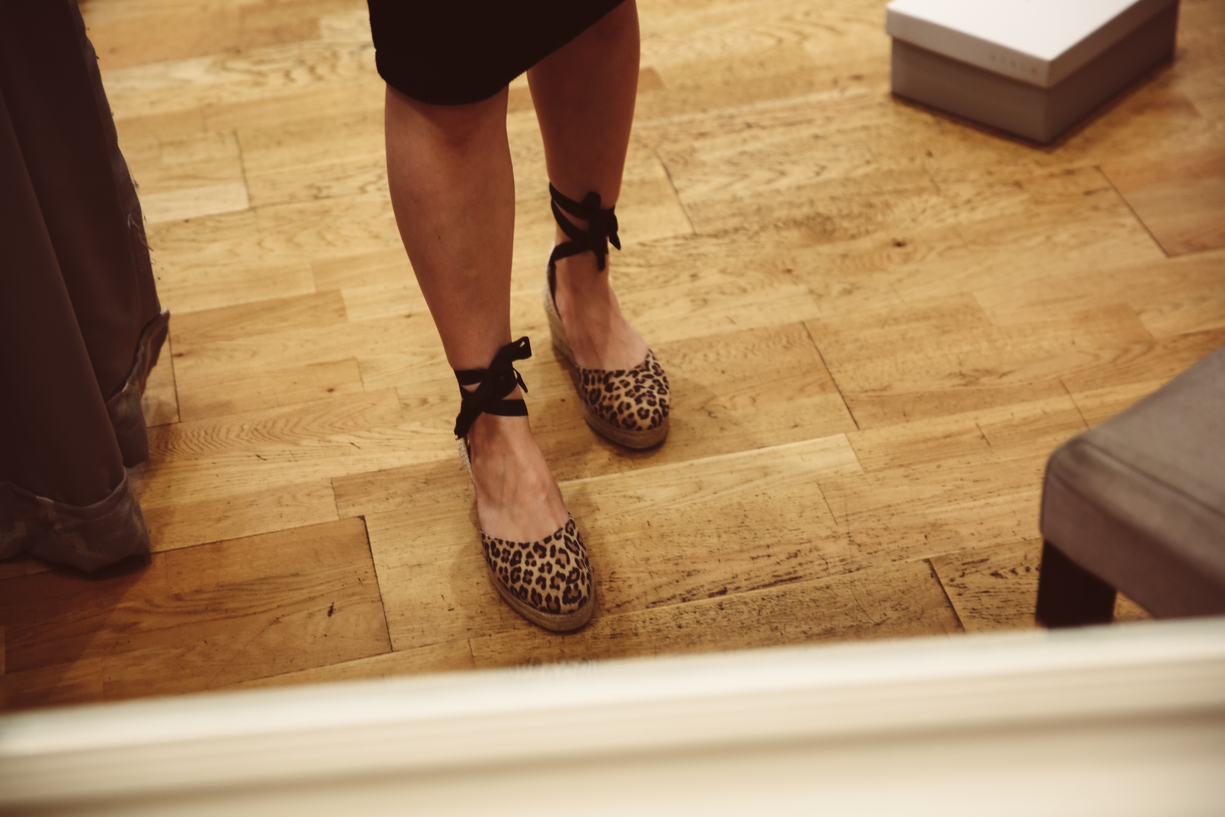 Cola high wedge sandals  - was £95, now £47.50, whilst stocks last