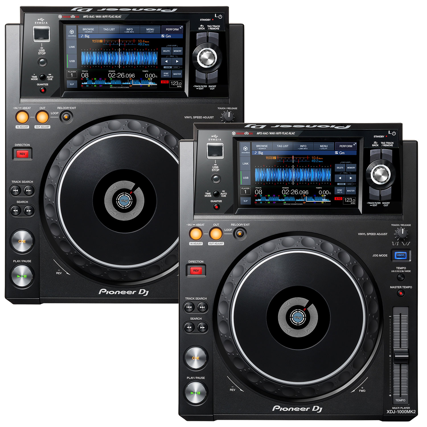 New in 2018 - Pioneer XDJ-1000MK2 Players