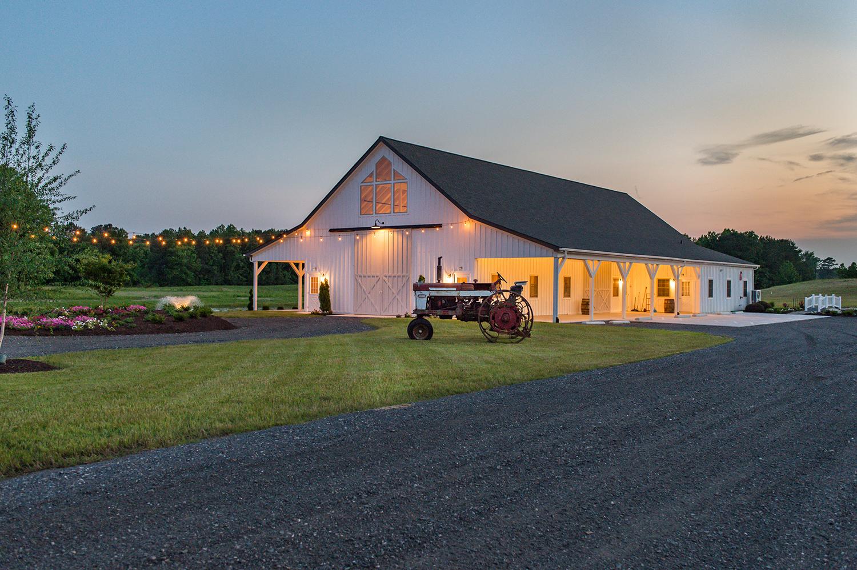 Barn Wedding Venues.Home Barn Wedding Venue The Barn At Kyland Grove Eastern Shore