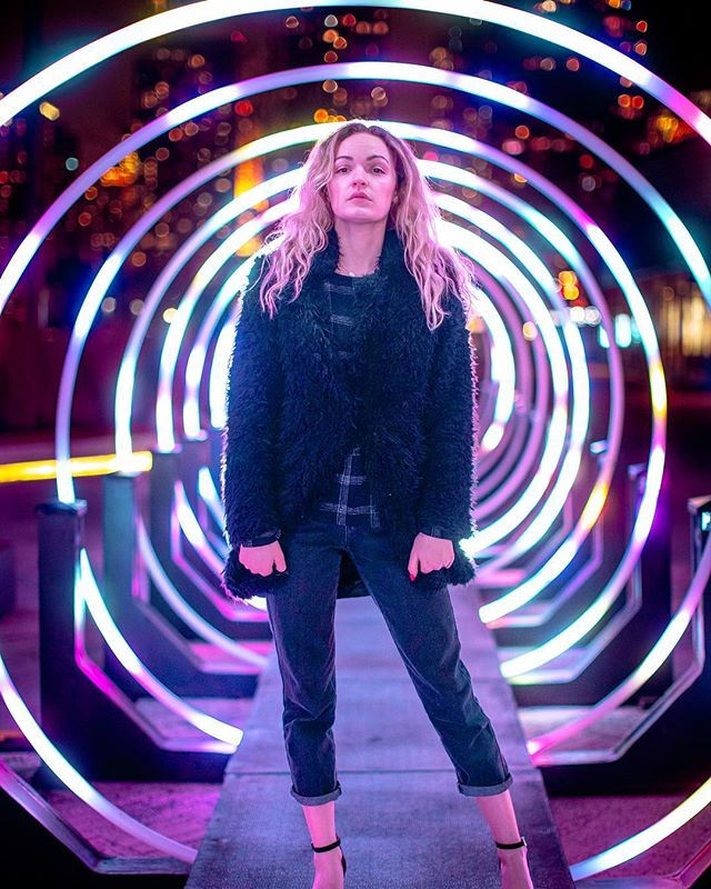 """@jacquelynadamson giving me her best """"Just stepping back through a time portal"""" look"""