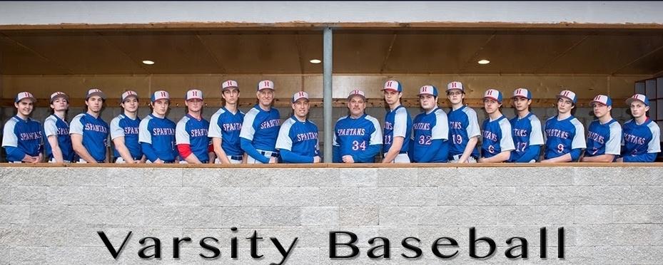 Hillsboro high school baseball team