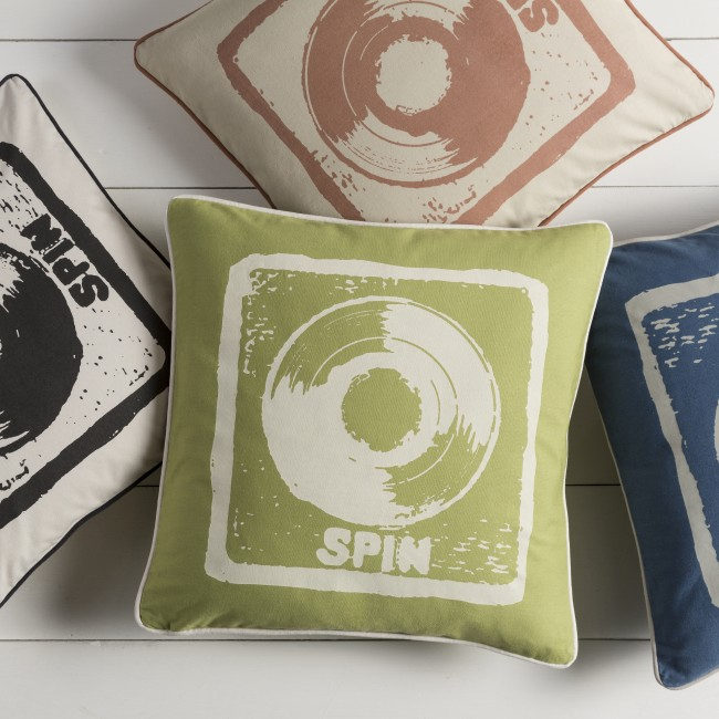Mike Farrell Spin Deco Pillow