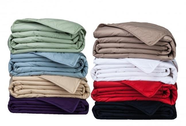 100% Cotton, Down Alternative Filled Blanket
