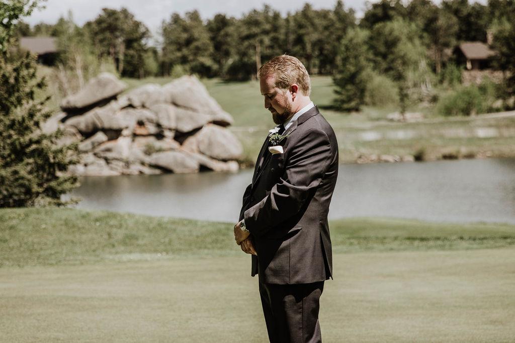 golf club at fox acres wedding