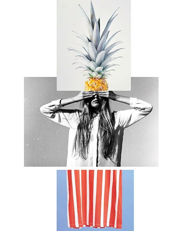 🍍Out of Office🍍 . . . Image 1 @society6 / image 2 @eetuelmerisihvonen / image 3 @garydidsbury via @apartment_34  #collage #summer #graphicdesign #maamcreative #apartment34 #society6 #eetuElmeri #garydidsbury