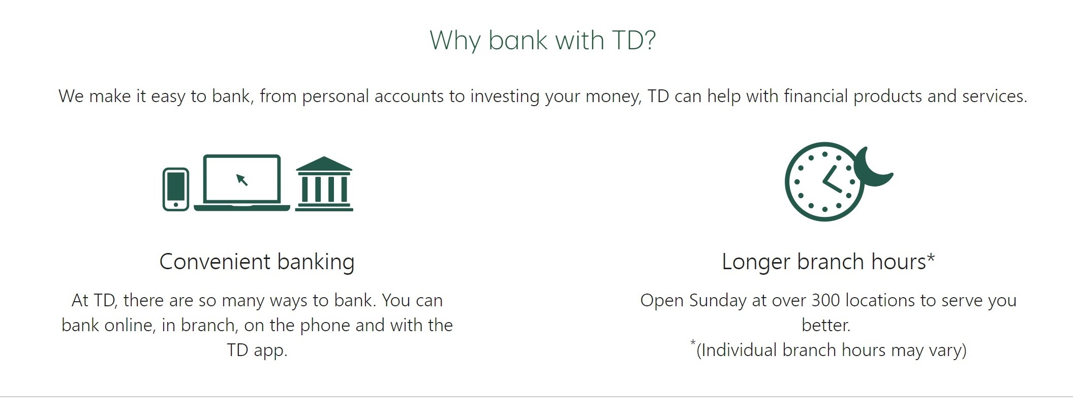 TD Bank — Nova Scotia Seafood Alliance