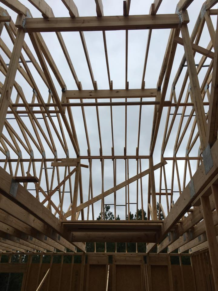 truss and rafters