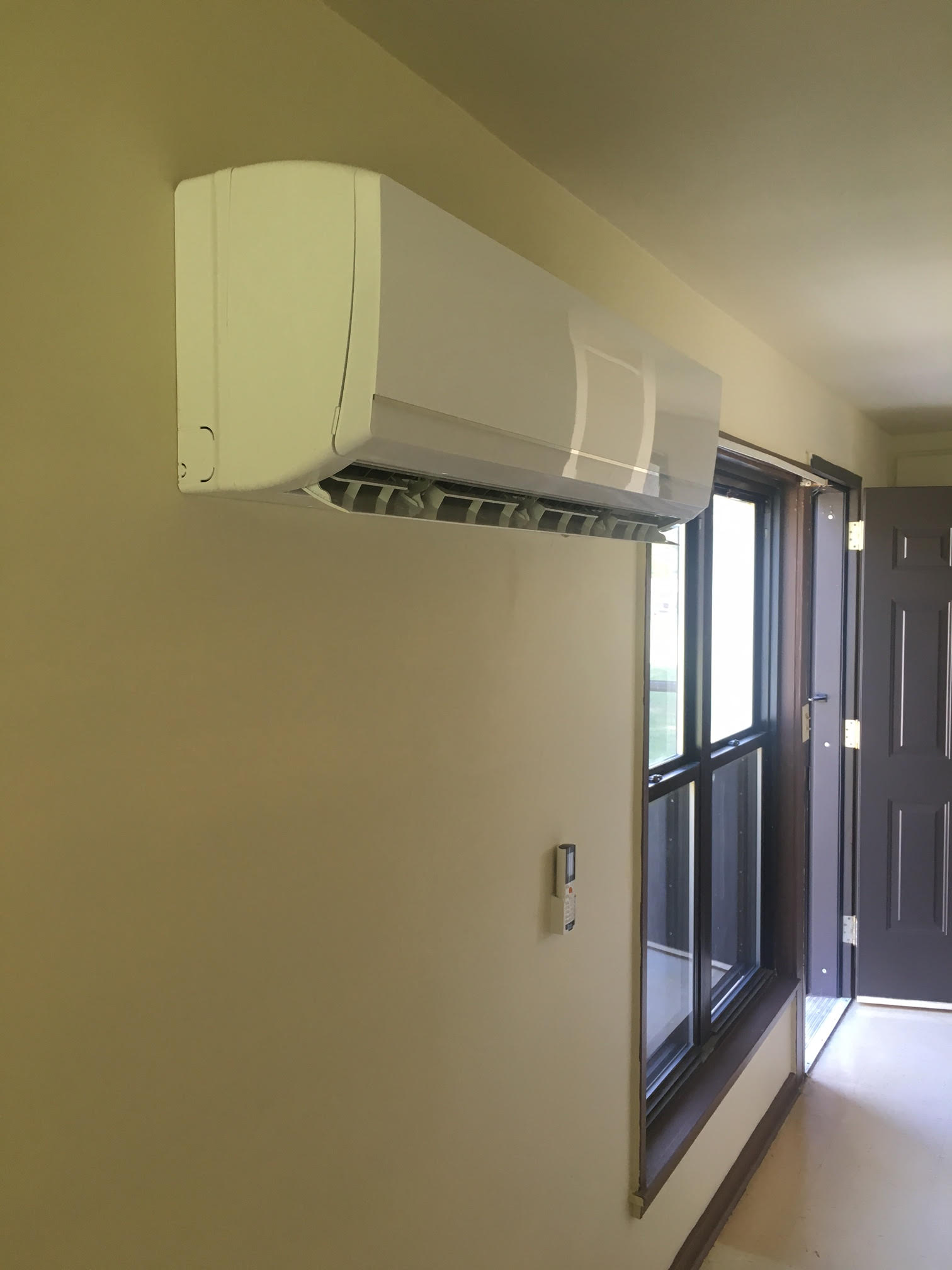 ductless mini split hvac air conditioner heat pump
