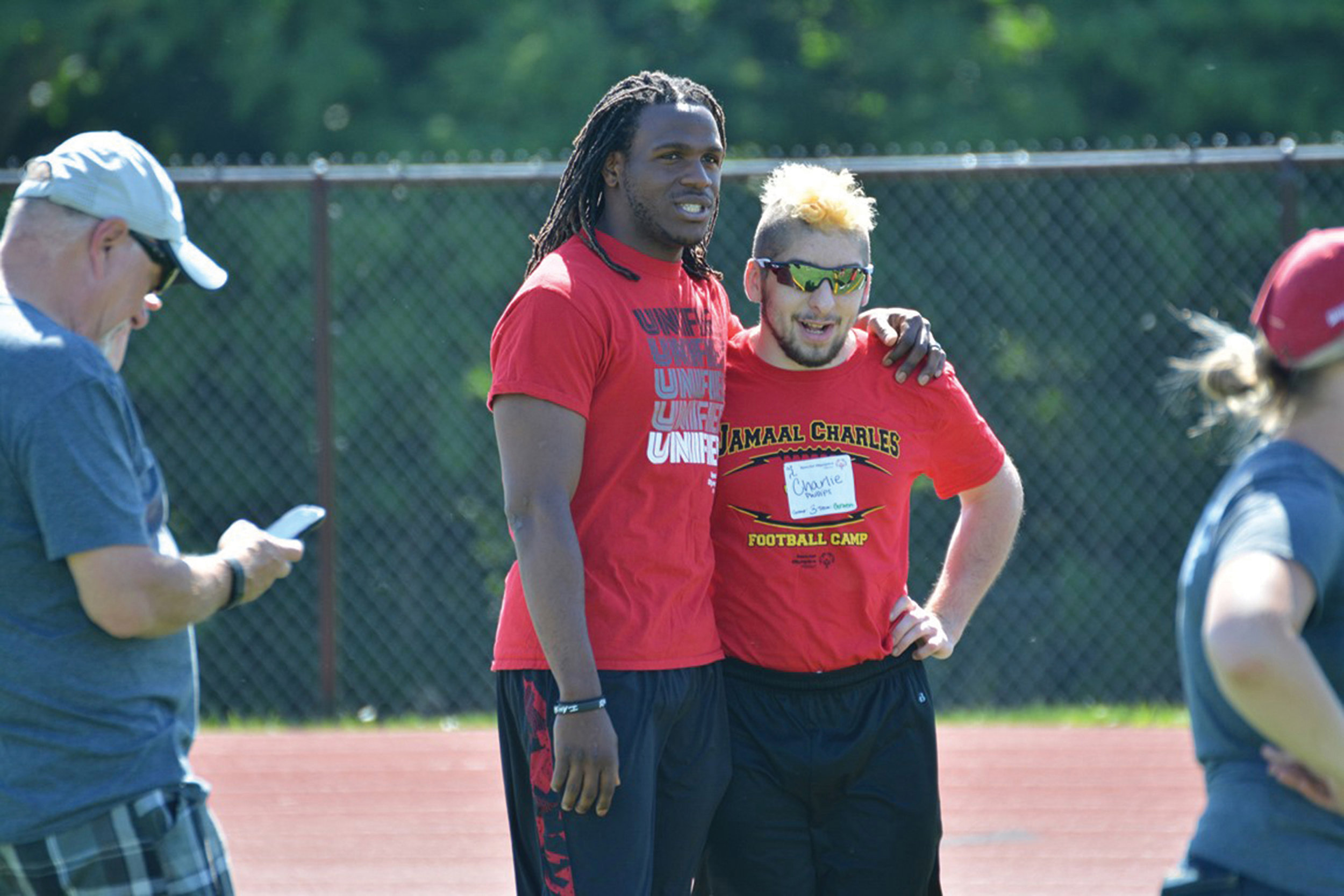 Jamaal Charles Unified Flag Football Clinic