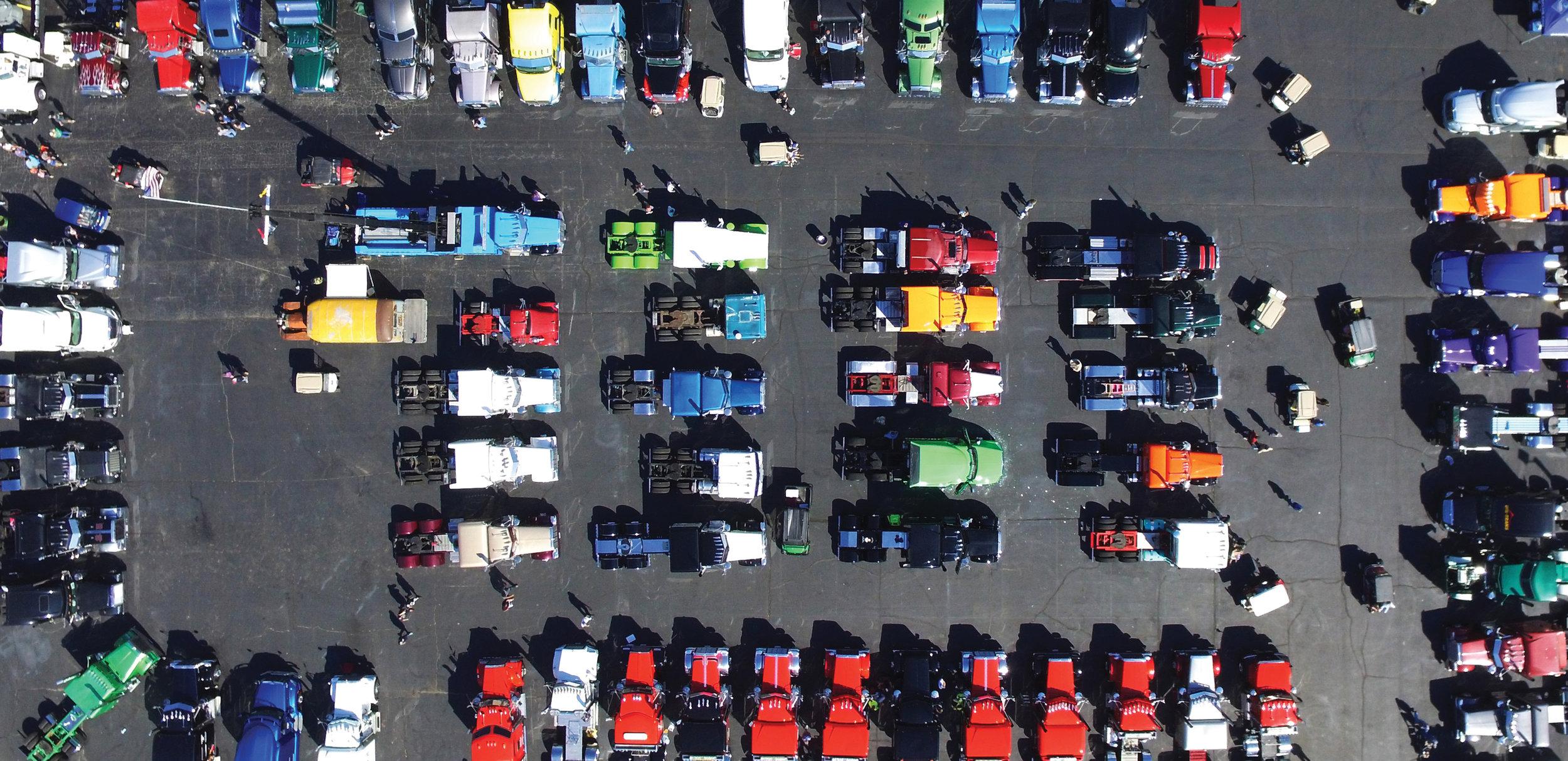 World's Largest Truck Convoy in Joplin