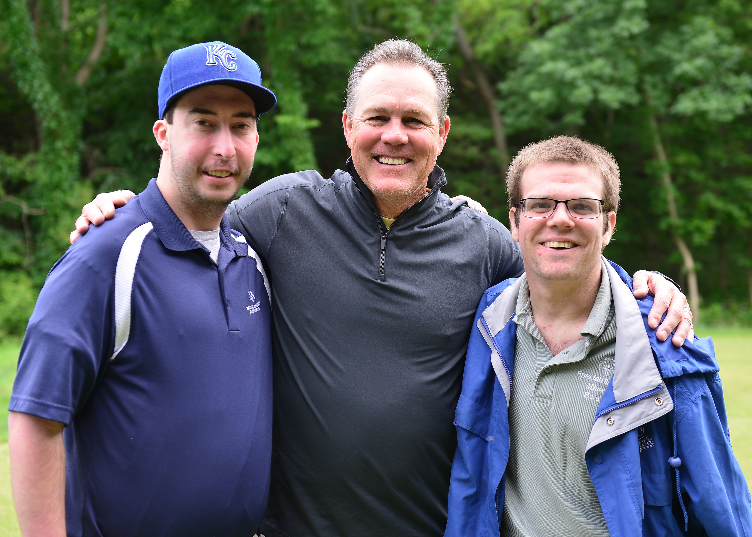The annual Royals Charities Golf Tournament is a joint fundraiser for Special Olympics Missouri and Special Olympics Kansas. Last year it raised more than $65,000. The Royals also invite our athletes out for a day at the ballpark complete with a pre-game scrimmage on the field.