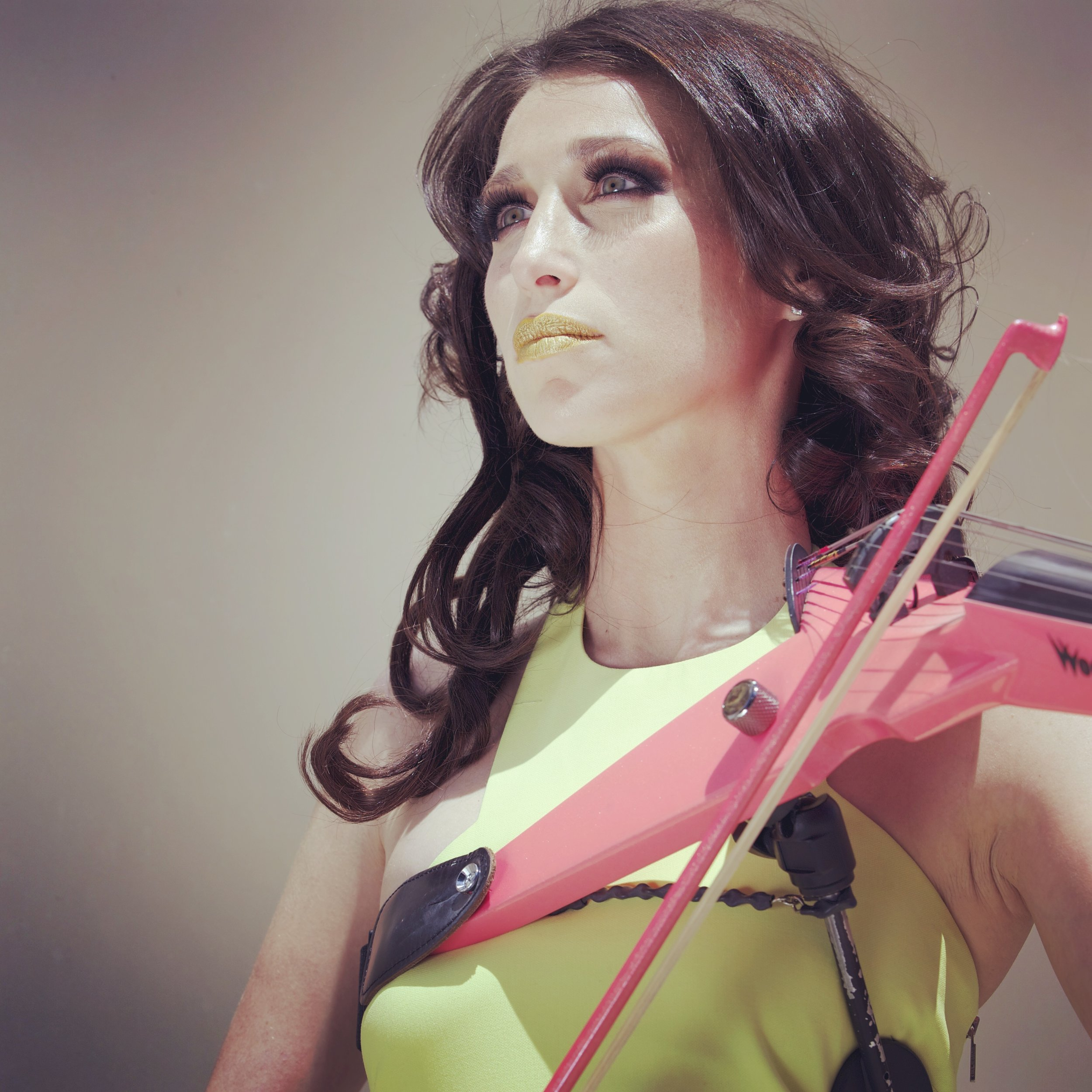 electric violinist