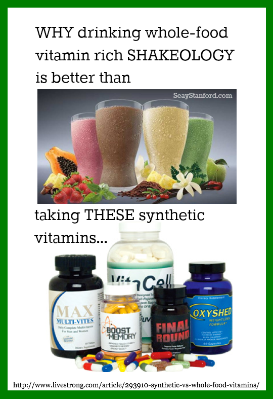 Natural vs Synthetic Vitamins