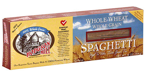 Hodgson Mill Label: 100% Whole Wheat Four