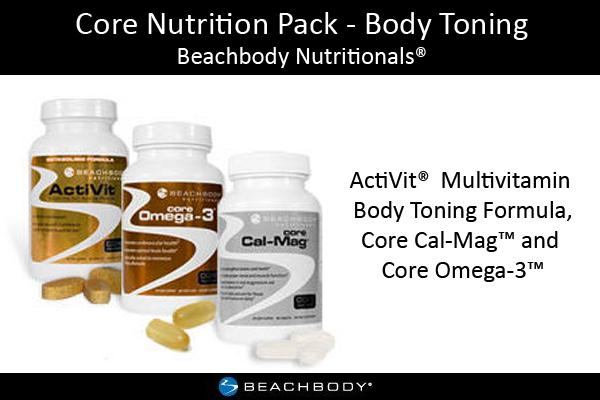 Core Nutrition Pack - Body Toning