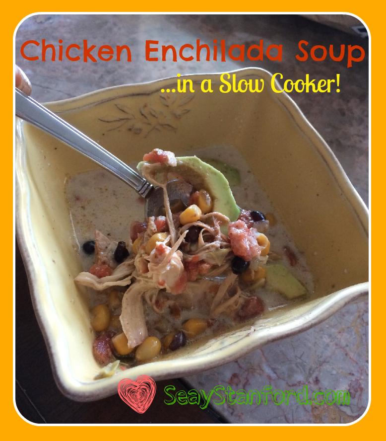 Chicken Enchilada Soup Slow Cooker