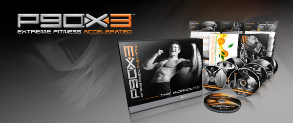 P90X-3 DVD Package