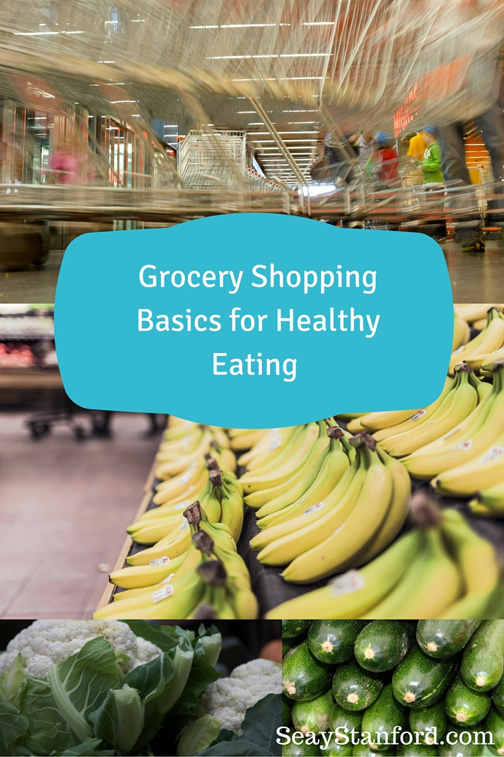 grocery shopping healthy eating