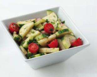 Cucumber tomato salad Reset